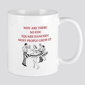 square dancing Mugs