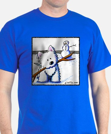 Westie One-Arm Bandit T-Shirt