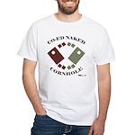 Co-Ed Naked Cornhole White T-Shirt