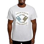 Co-Ed Naked Cornhole Light T-Shirt