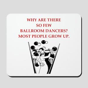 ballroom dancer Mousepad
