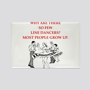 line dancer Magnets