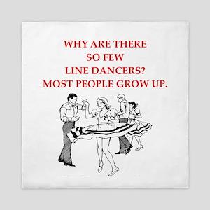 line dancer Queen Duvet