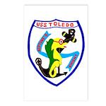 USS Toledo (CA 133) Postcards (Package of 8)
