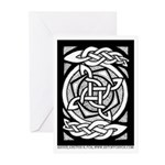Celtic Knotwork Spin Greeting Cards (Pk of 10)