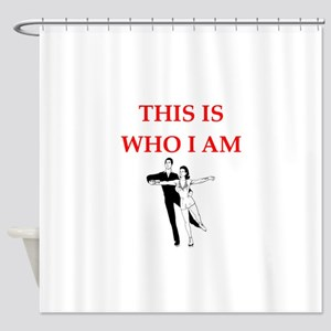 ice dancing Shower Curtain