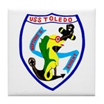 USS Toledo (CA 133) Tile Coaster