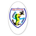 USS Toledo (CA 133) Oval Sticker