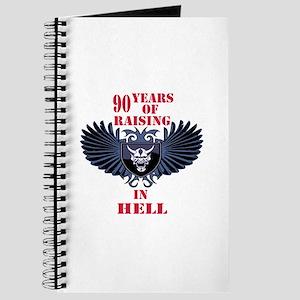 90 Years of Raising in hell Journal
