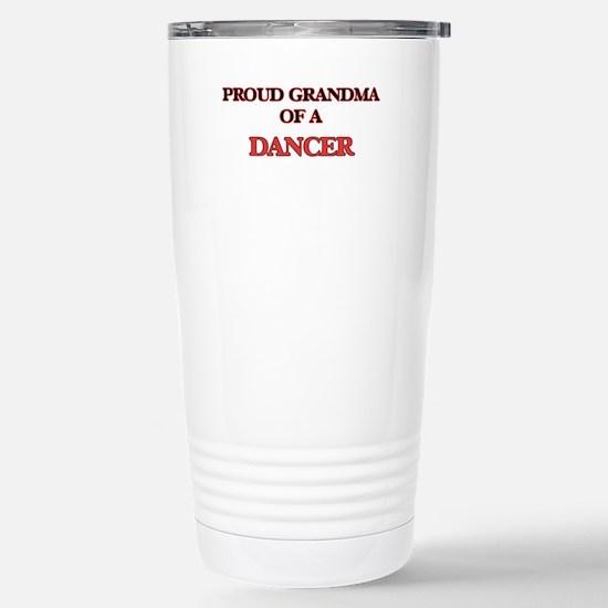 Proud Grandma of a Danc Stainless Steel Travel Mug