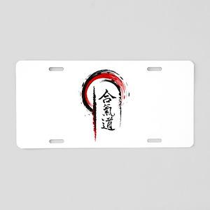 Aikido Aluminum License Plate