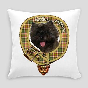 Cairn Terrier Crest Everyday Pillow