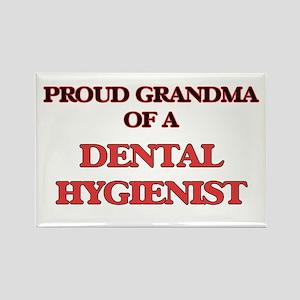 Proud Grandma of a Dental Hygienist Magnets