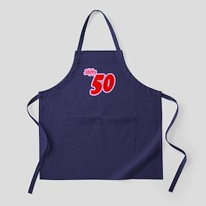 Shifty 50th Fifty 50 Shirt Apron (dark)