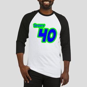 Sporty Forty 40 Baseball Jersey