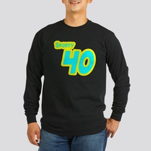 Sporty Forty 40 Long Sleeve Dark T-Shirt