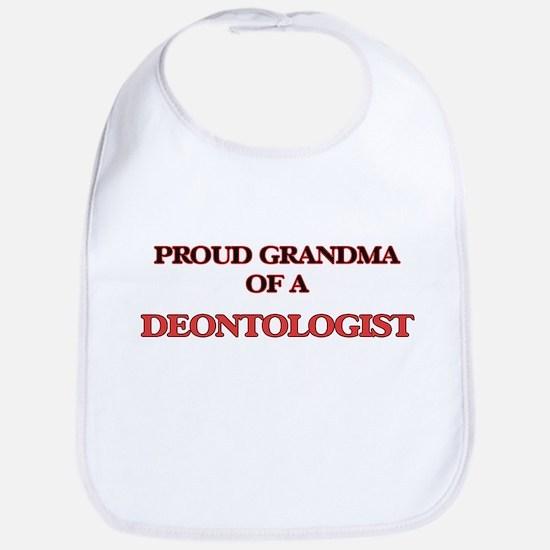 Proud Grandma of a Deontologist Bib