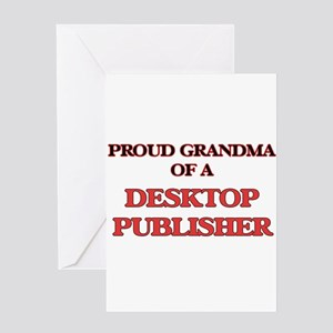 Proud Grandma of a Desktop Publishe Greeting Cards