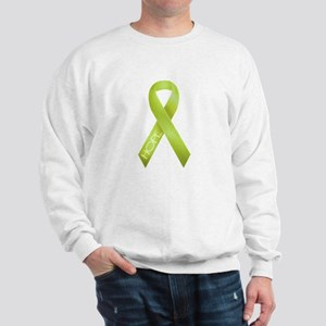 Lime Green Ribbon Sweatshirt
