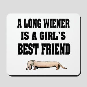 Wiener Friend Dachshund Mousepad
