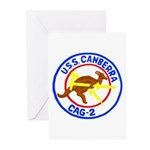 USS Canberra (CAG 2) Greeting Cards (Pk of 10)
