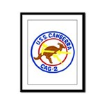 USS Canberra (CAG 2) Framed Panel Print