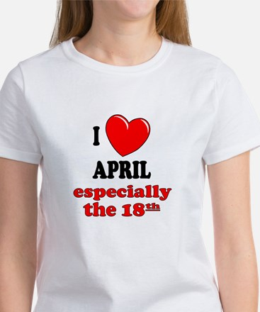 April 18th Women's T-Shirt