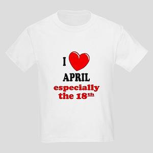 April 18th Kids Light T-Shirt