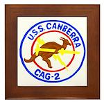USS Canberra (CAG 2) Framed Tile