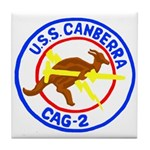 USS Canberra (CAG 2) Tile Coaster