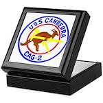 USS Canberra (CAG 2) Keepsake Box