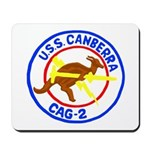 USS Canberra (CAG 2) Mousepad