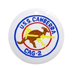 USS Canberra (CAG 2) Ornament (Round)