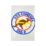 USS Canberra (CAG 2) Rectangle Magnet (100 pack)