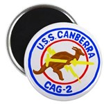 "USS Canberra (CAG 2) 2.25"" Magnet (10 pack)"