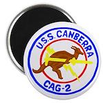 "USS Canberra (CAG 2) 2.25"" Magnet (100 pack)"