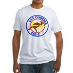 USS Canberra (CAG 2) Fitted T-Shirt