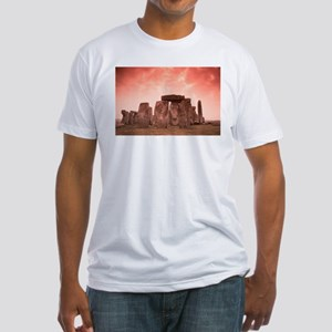 Stonehenge #4 Fitted T-Shirt
