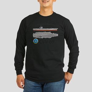 USS Eisenhower CVN-69 Long Sleeve T-Shirt