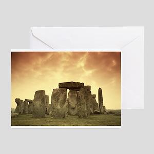 Stonehenge #5 Greeting Cards (Pk of 20)