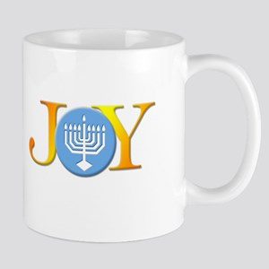 Joy Menorah Mug