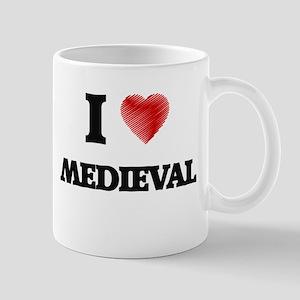 I Love Medieval Mugs