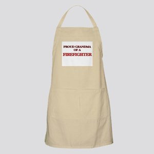 Proud Grandma of a Firefighter Apron