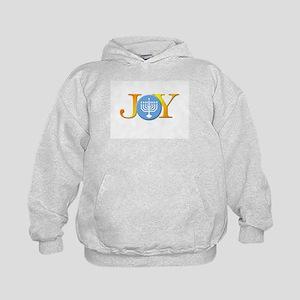 Joy Menorah Kids Hoodie