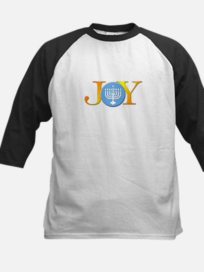 Joy Menorah Kids Baseball Jersey