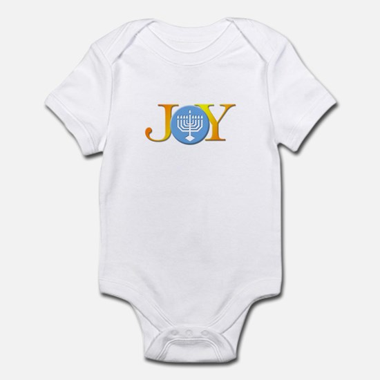 Joy Menorah Infant Bodysuit