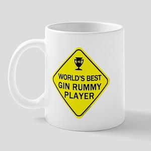Gin Rummy Player Mug