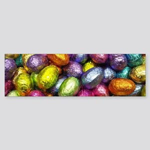 Chocolate Easter Eggs! Bumper Sticker