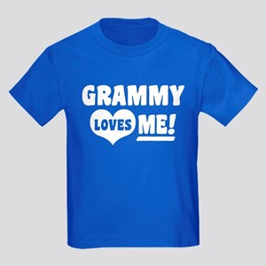 Grammy Loves Me Kids Dark T-Shirt