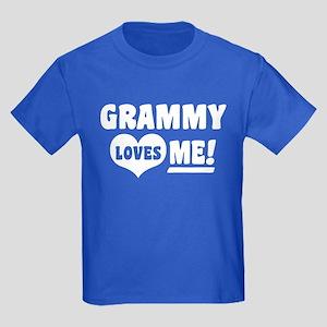 Grammy Loves Me Kids Dark T-Shirt